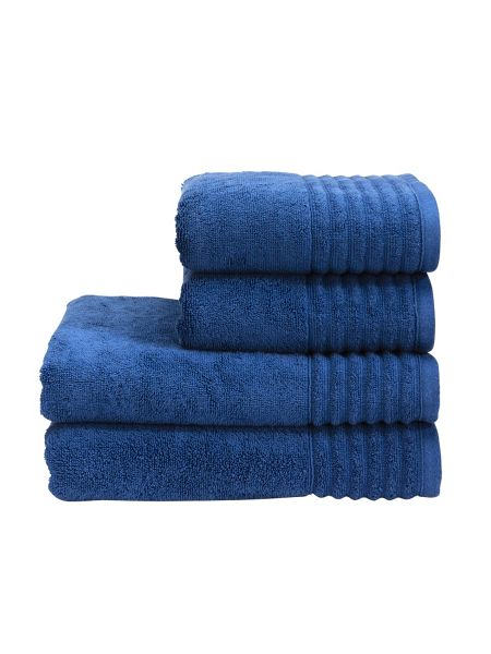 Christy Florida indigo face towel