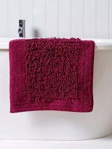 Chenille Plus Rug Loganberry