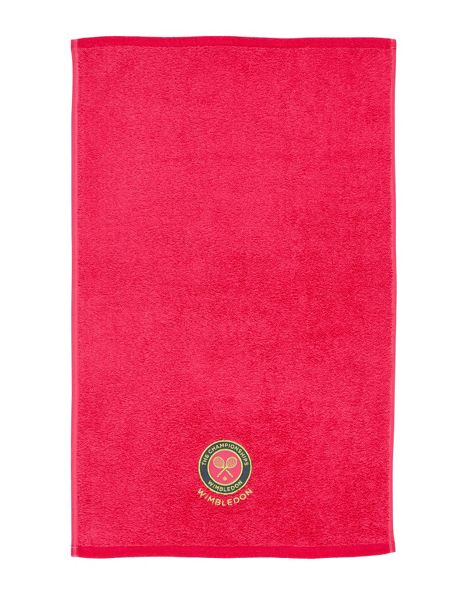 Christy Wimbledon guest towel hot pink