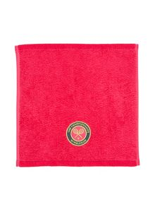Christy Wimbledon towel face hot pink/Charcoal
