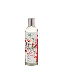 RHS Poppy Meadow Bath & Show Gel