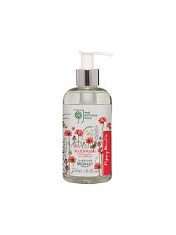 RHS Poppy Meadow Hand Wash