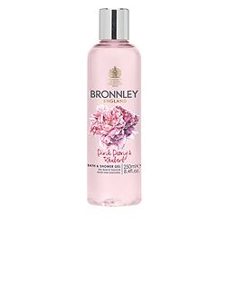 Bronnley Pink Peony & Rhubarb Bath & Shower