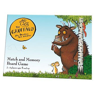 Gruffalo memory board game