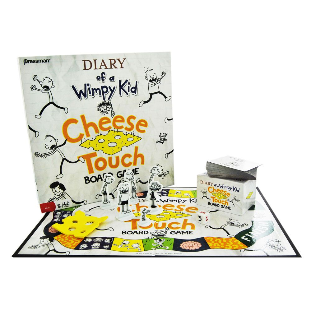 Diary of a Wimpy Kids Cheese Touch Board Game