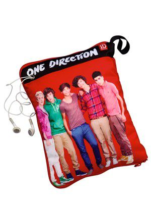 One Direction Hide & Sleep Cushion