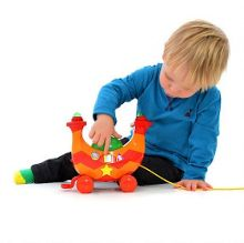 Ninky Nonk Musical Pull-Along Engine
