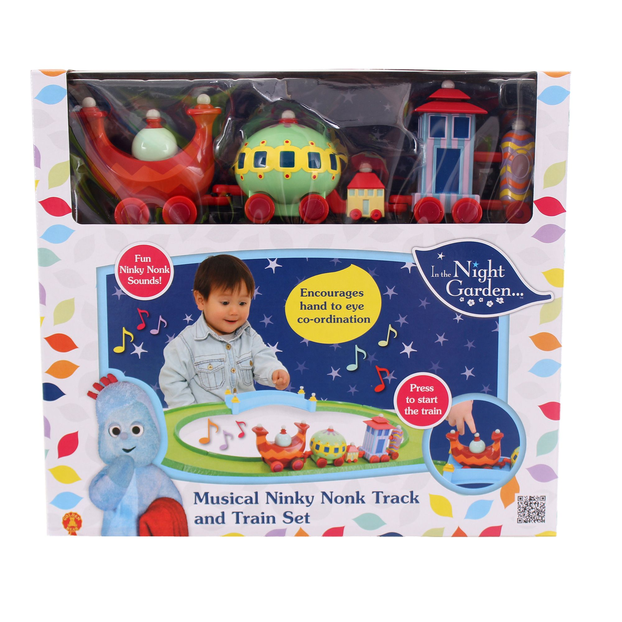 In the Night Garden Musical Ninky Nonk Train & Track Set