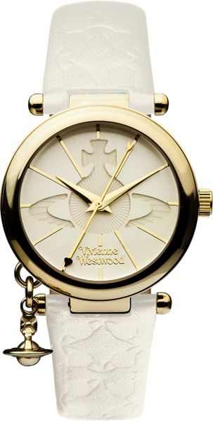 Vivienne Westwood VV006WHWH Ladies  Strap Watch
