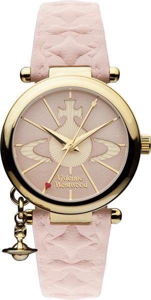 Vivienne Westwood VV006PKPK Ladies Strap Watch