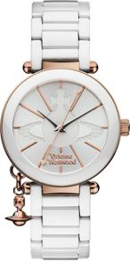 VV067RSWH Ladies Ceramic Watch