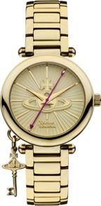 Vivienne Westwood VV006KGD Ladies Bracelet  Watch