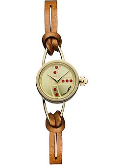 VV081GDBR ladies strap watch