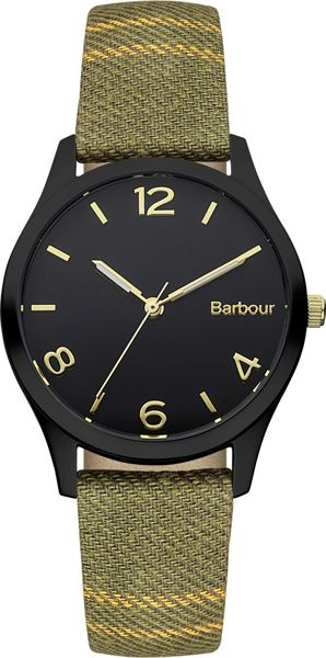 Barbour BB002BKTR ladies strap watch