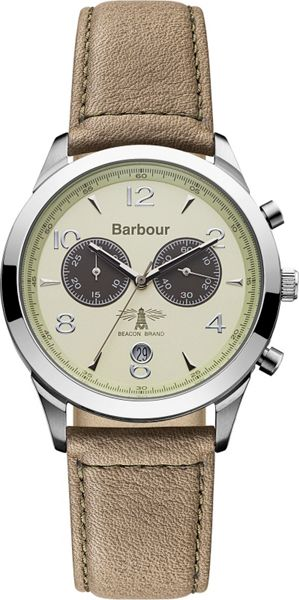 Barbour BB017CMBR mens strap watch