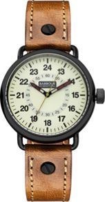 Barbour BB022GDBR mens strap watch