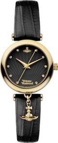 Vivienne Westwood VV108BKBK Ladies Strap Watch