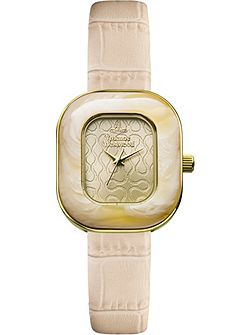 VV112GDCM ladies strap watch