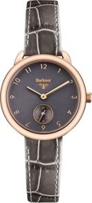 Barbour BB035RSGY ladies strap watch