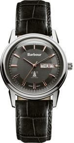 Barbour BB036SLBK mens strap watch
