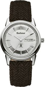 Barbour BB036SLHB mens strap watch