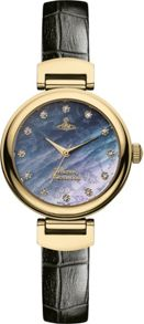 Vivienne Westwood VV128GDBK Ladies Strap Watch