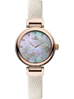 VV128RSWH Ladies Strap Watch