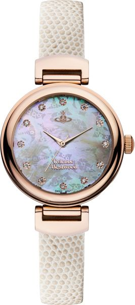 Vivienne Westwood VV128RSWH Ladies Strap Watch