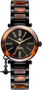 Vivienne Westwood VV006BKBR ladies bracelet watch