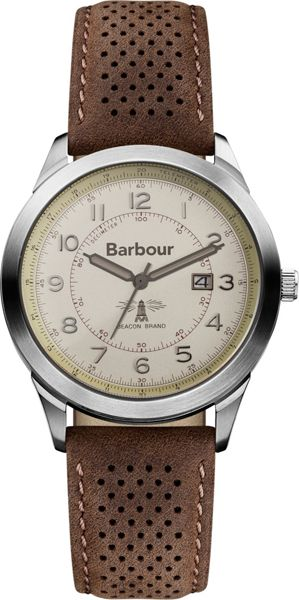 Barbour BB017CPBR mens strap watch