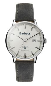 Barbour Bb043whgy gents strap watch