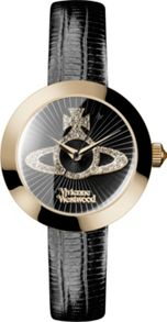 Vivienne Westwood Vv150gdbk ladies strap watch