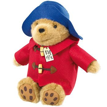 21cm Sitting Paddington Bear