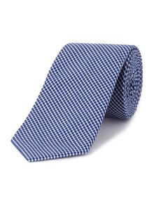 Barford gingham patterned tie