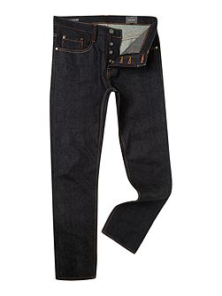Five pocket selvedge jeans