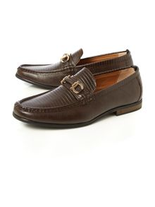 Statham lizard loafer