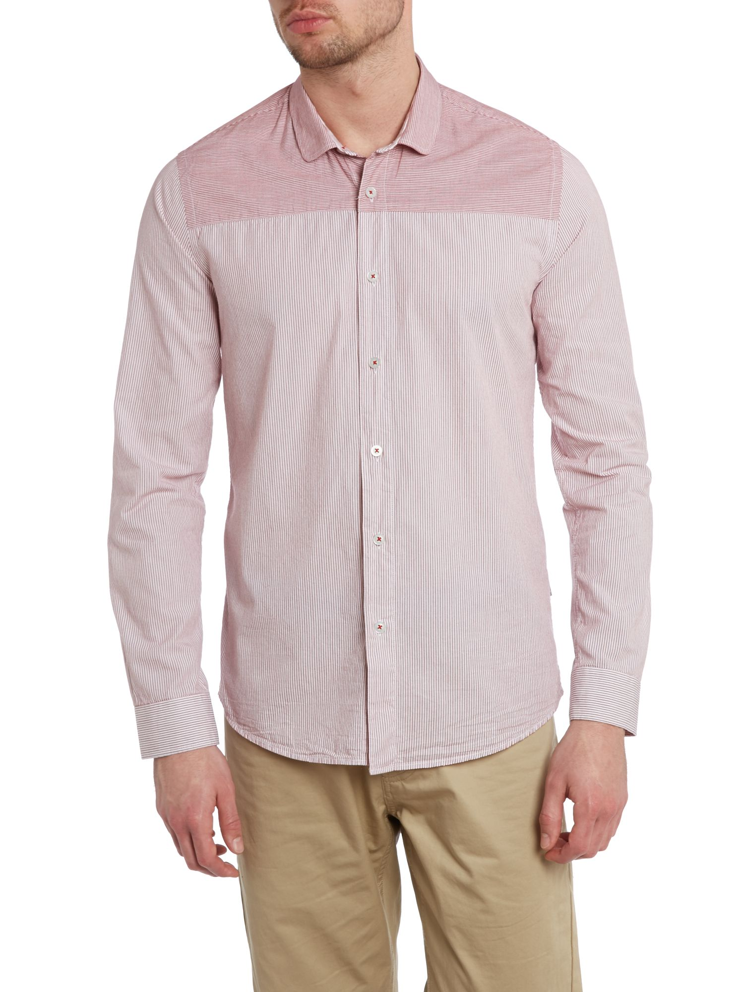 Indio penny stripe shirt