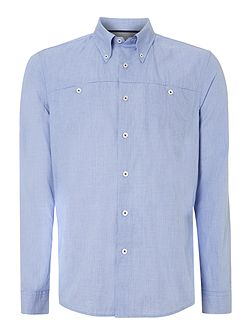 Perris rolled button down shirt