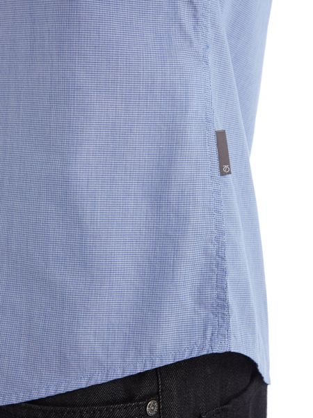 Peter Werth Perris rolled button down shirt