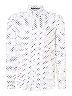 Painsthorpe button down collar shirt