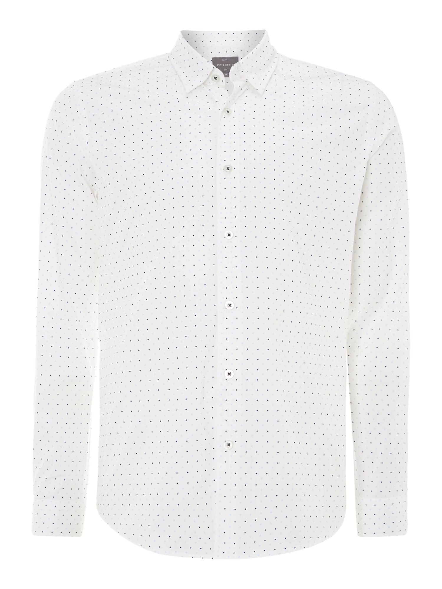 Edom diamond print shirt