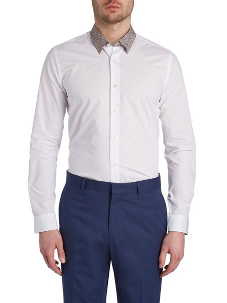 Peter Werth Chuck Concealed Button Down Collar Shirt