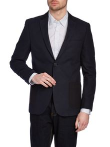 North contrast blazer