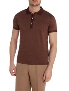 Peter Werth Araby pin dot polo shirt