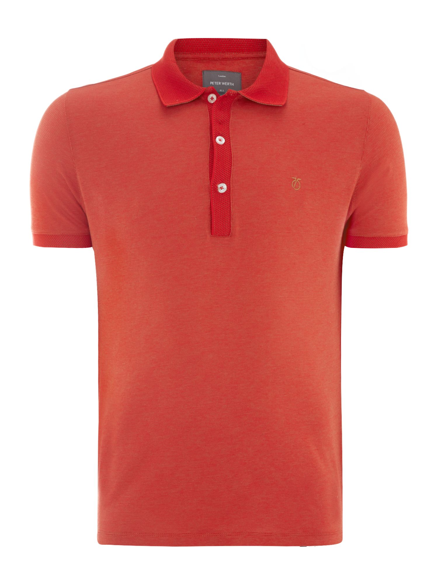 Araby pin dot polo shirt