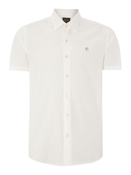 Peter Werth Drayton cut poplin shirt