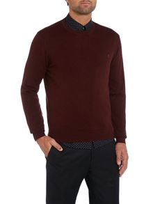 Halton cut crew neck sweater