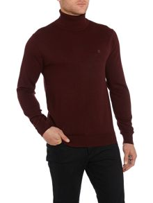 Battledean cut roll neck jumper
