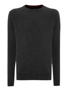Mondrian lambswool crew neck jumper