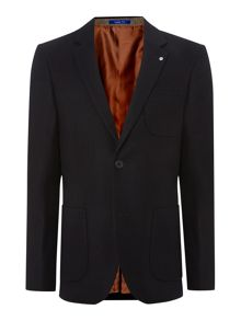Pavilion two button flannel blazer